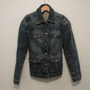 Women's jeans jacket size 6